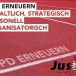 Banner 'SPD erneuern'